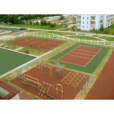 Будівництво спортивних, дитячих майданчиків
