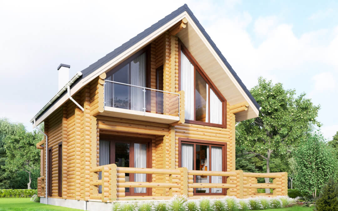 Відпочинковий будинок в альпійському стилі