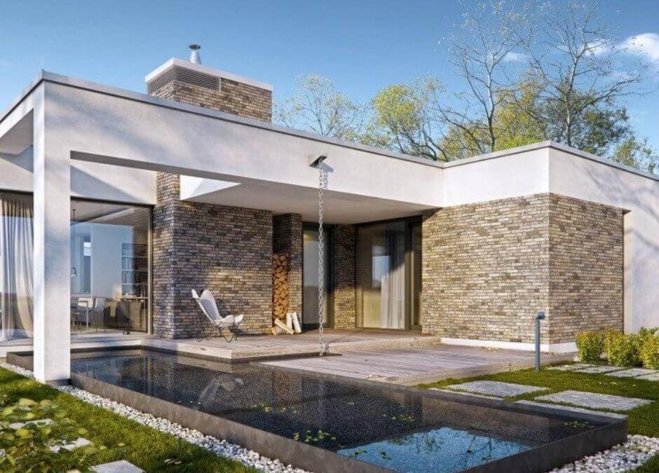 Переваги плоских дахів