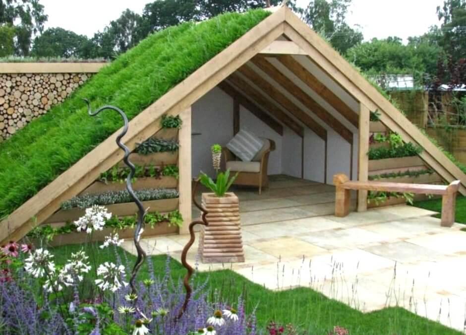 Зелений дах: красиво та практично