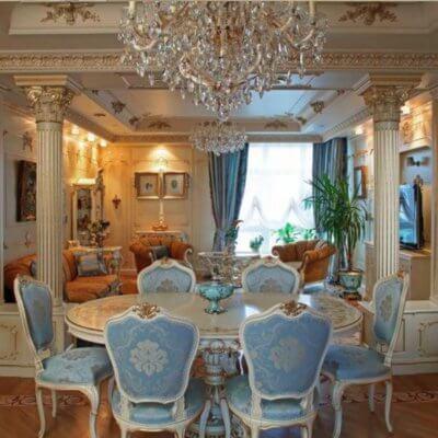 Ремонт квартири у стилі Барокко