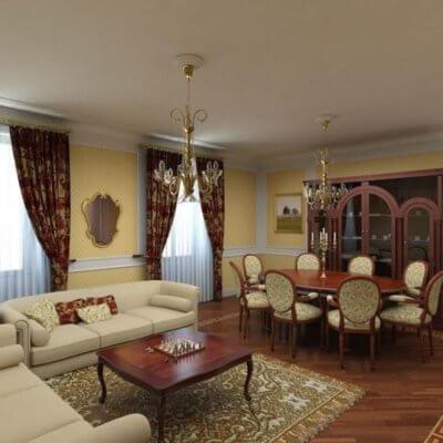 Ремонт квартири у стилі Ренесанс