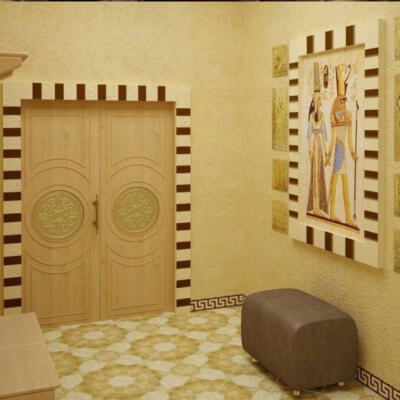 Ремонт квартири в Єгипетському стилі