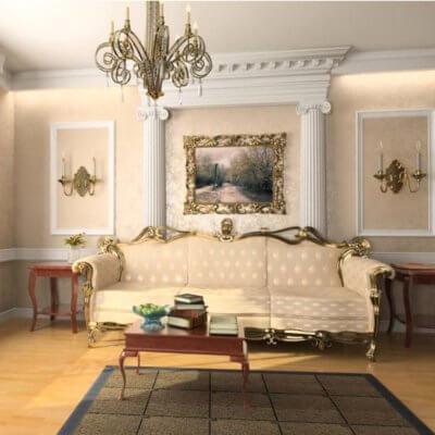 Ремонт квартир у стилі Рококо